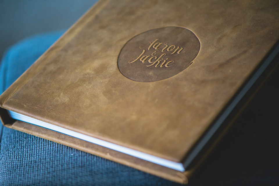 American Honey Full-Grain Leather Album from vision art, by Lionheart Photography