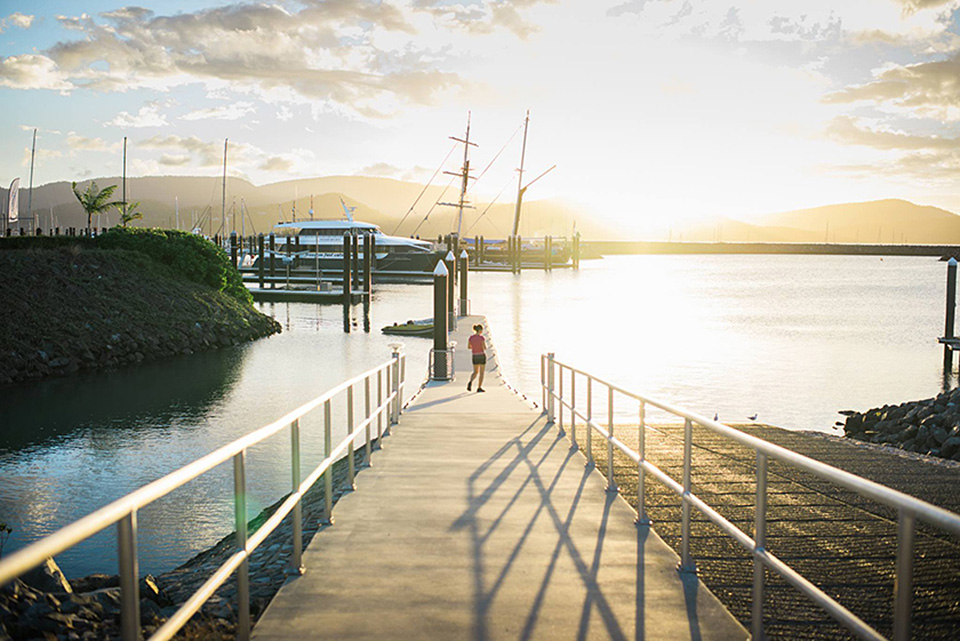 Airlie Beach Jetty landscape photography