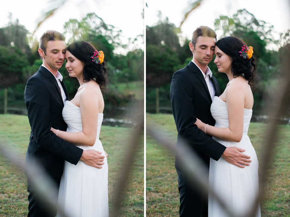 Danica and Ben, surprise wedding by Lionheart Photography.