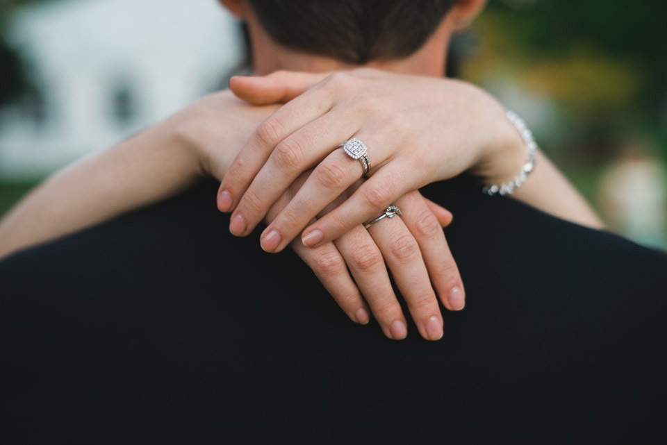 The Bride's wedding ring