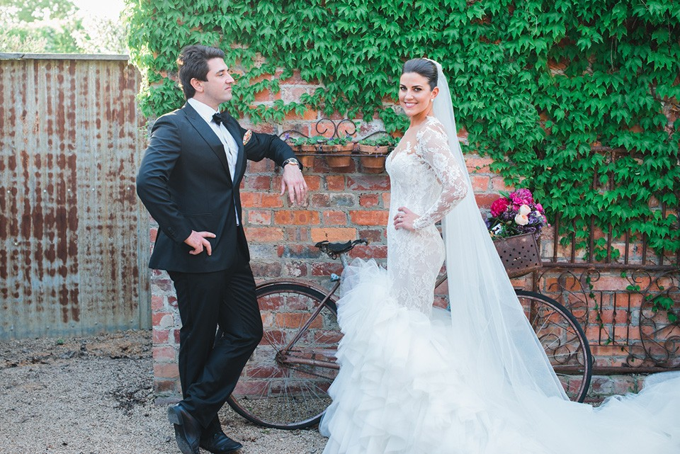 Claire and Angus married at Stones Of The Yarra Valley Wedding Venue