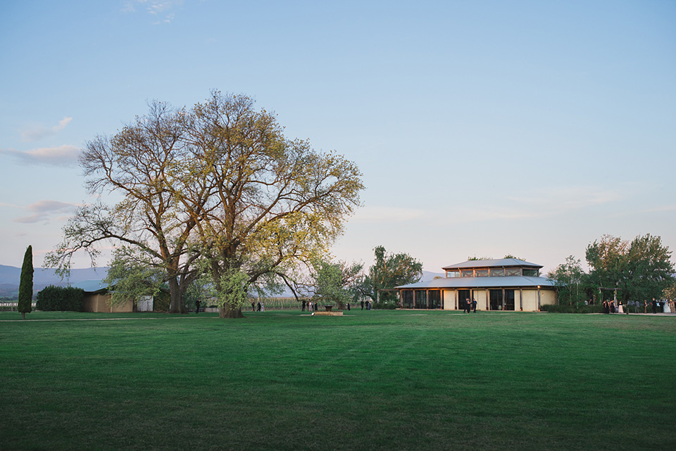 A photo of the venue building at Stones of the Yarra Valley, in Melbourne.