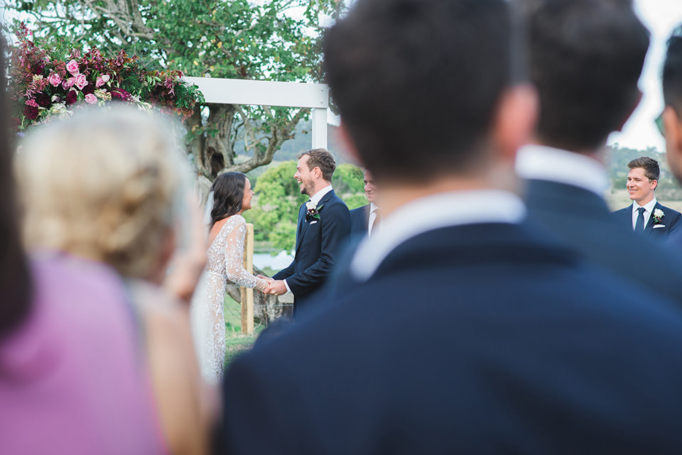 Yandina Station wedding ceremony