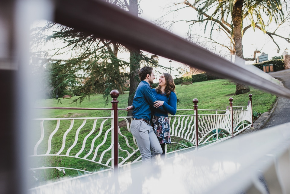 A Canterbury Gardens engagement shoot with Kirsty & Tim.