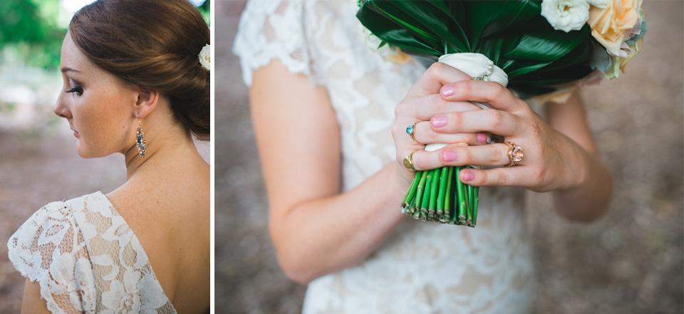 Wedding photos of the Bride at Wirreanda Park