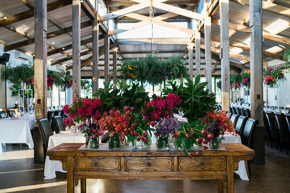 Amazing wedding floral styling by The Flower Jar in Melbourne.