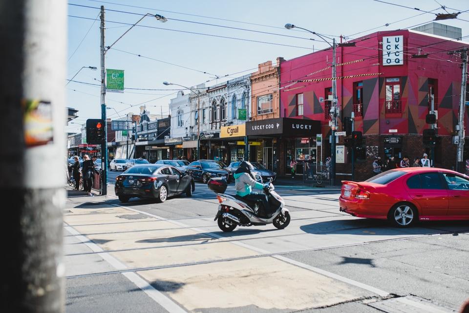 Walking to Chapel Street in Windsor, Melbourne.