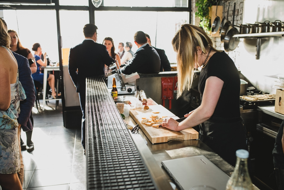 Lady Nelson's Wine & Kitchen Bar on Chapel Street, Windsor. Melbourne wedding.