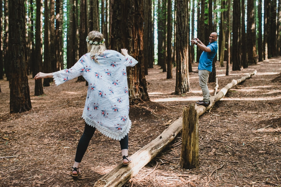 Exploring Redwood Forest in the Yarra Valley - Lionheart Photography