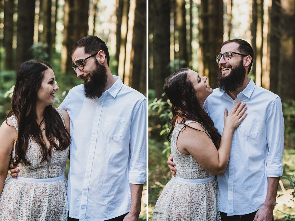 Engagement shoot with Hayley & Nick at Redwood Forest, Warburton.