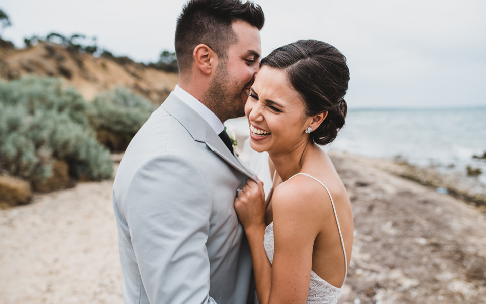 Ashlee & Chris' Terindah Estate wedding photos in Bellarine Peninsula.