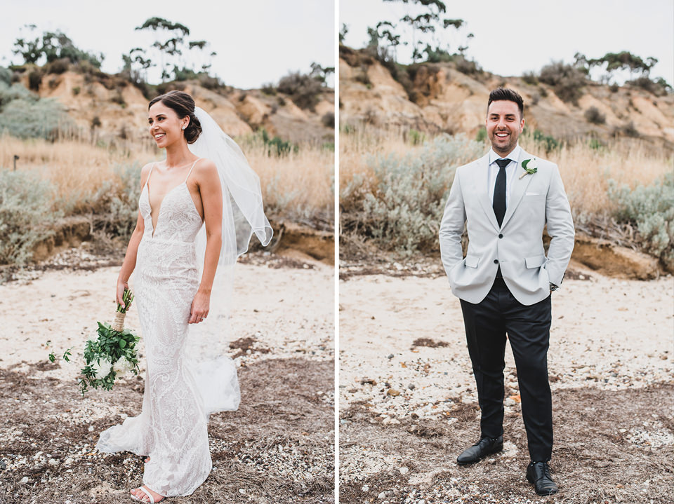Portrait of the Bride and the Groom