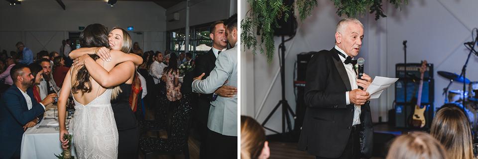 Wedding reception photos.
