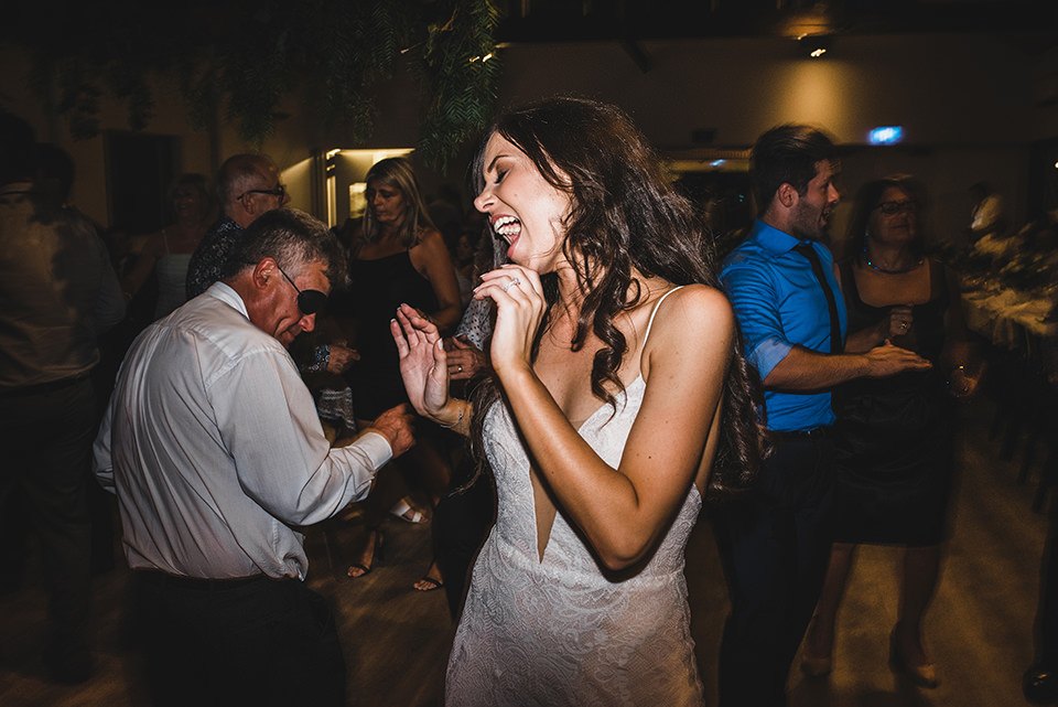 Ashlee dancing.