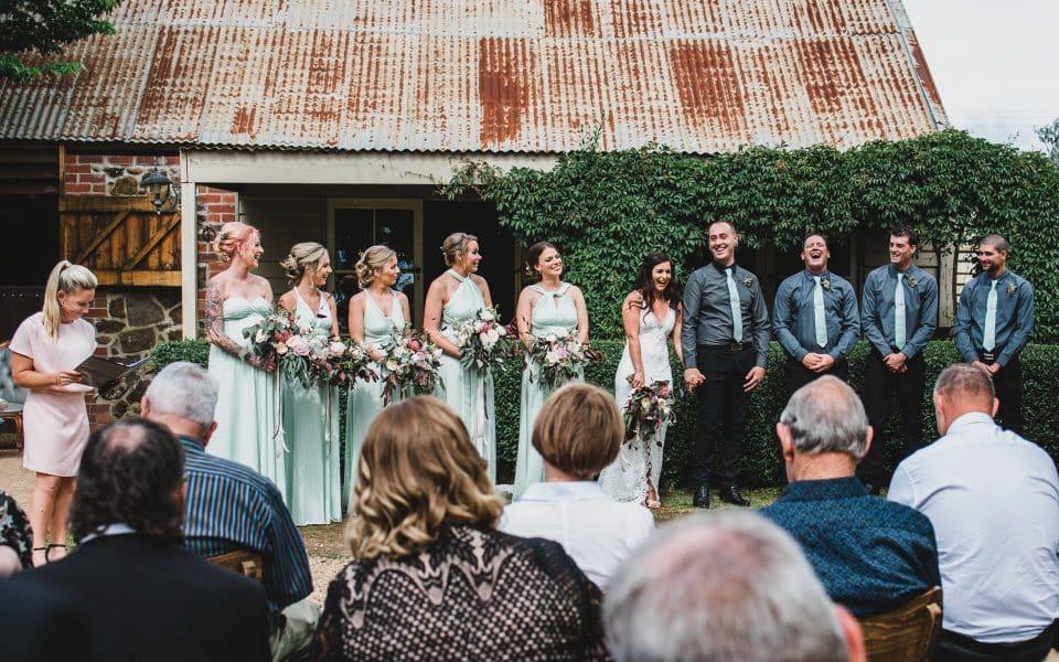 Quirindi Stables wedding venue in Daylesford.
