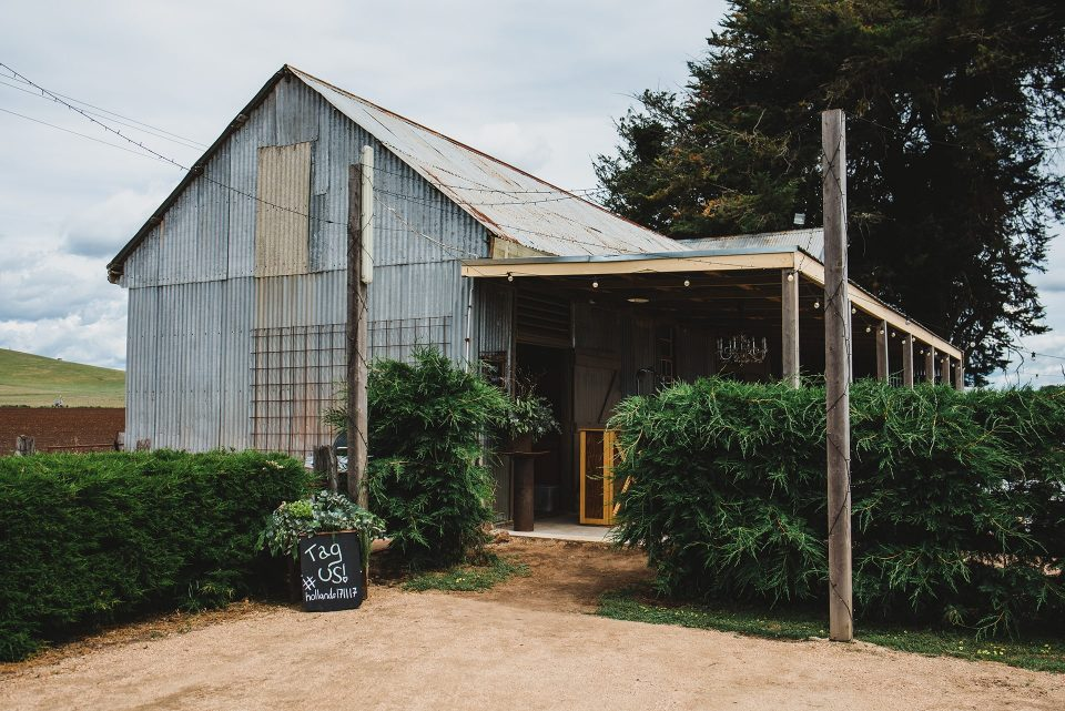 A photo of the horse stables at Quirindi Stables, Daylesford.
