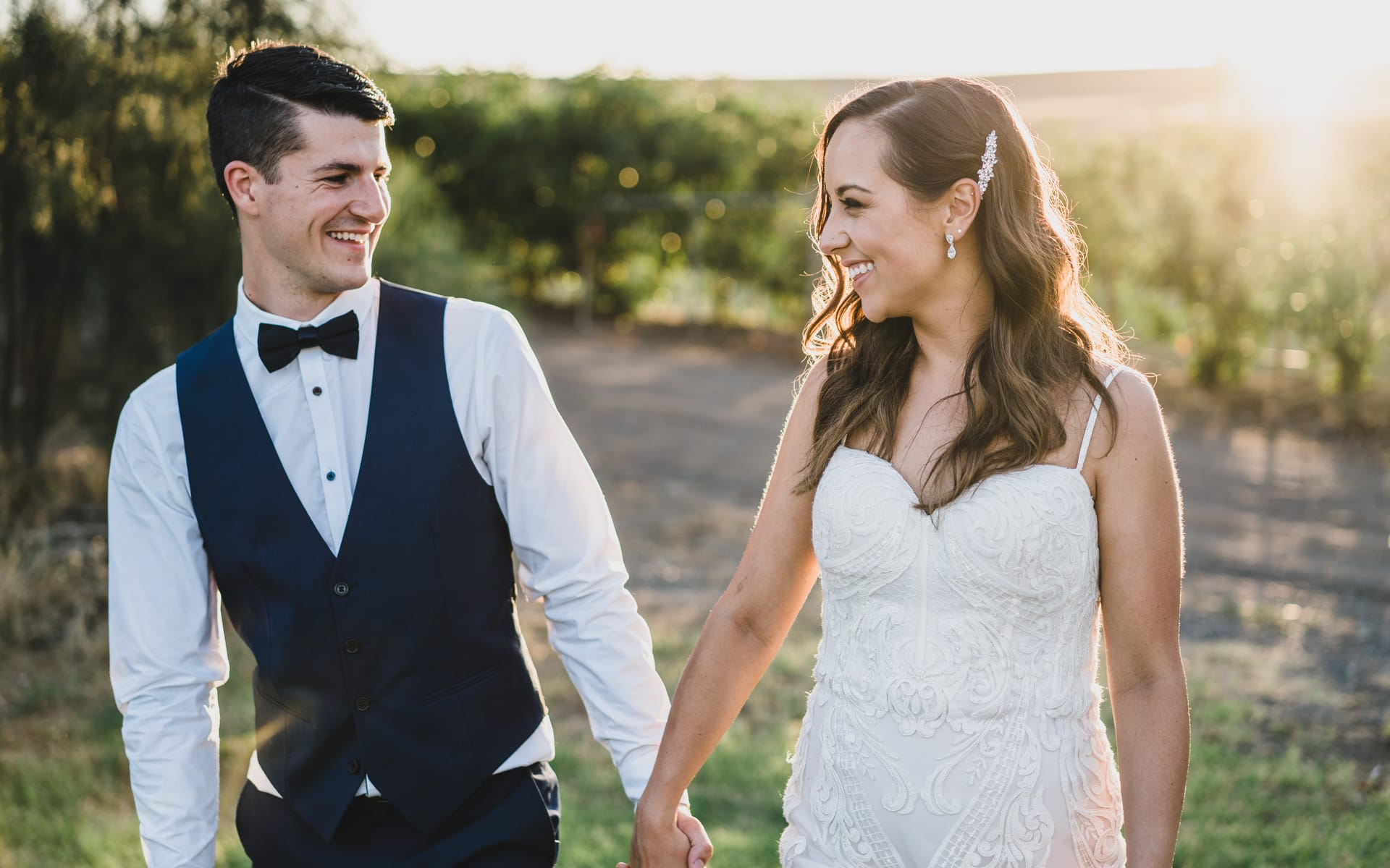 Yarra Valley The Little Vineyard wedding.