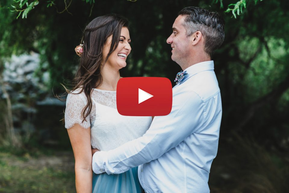 Melbourne Wedding Videography, Abby & Jamie's backyard wedding.
