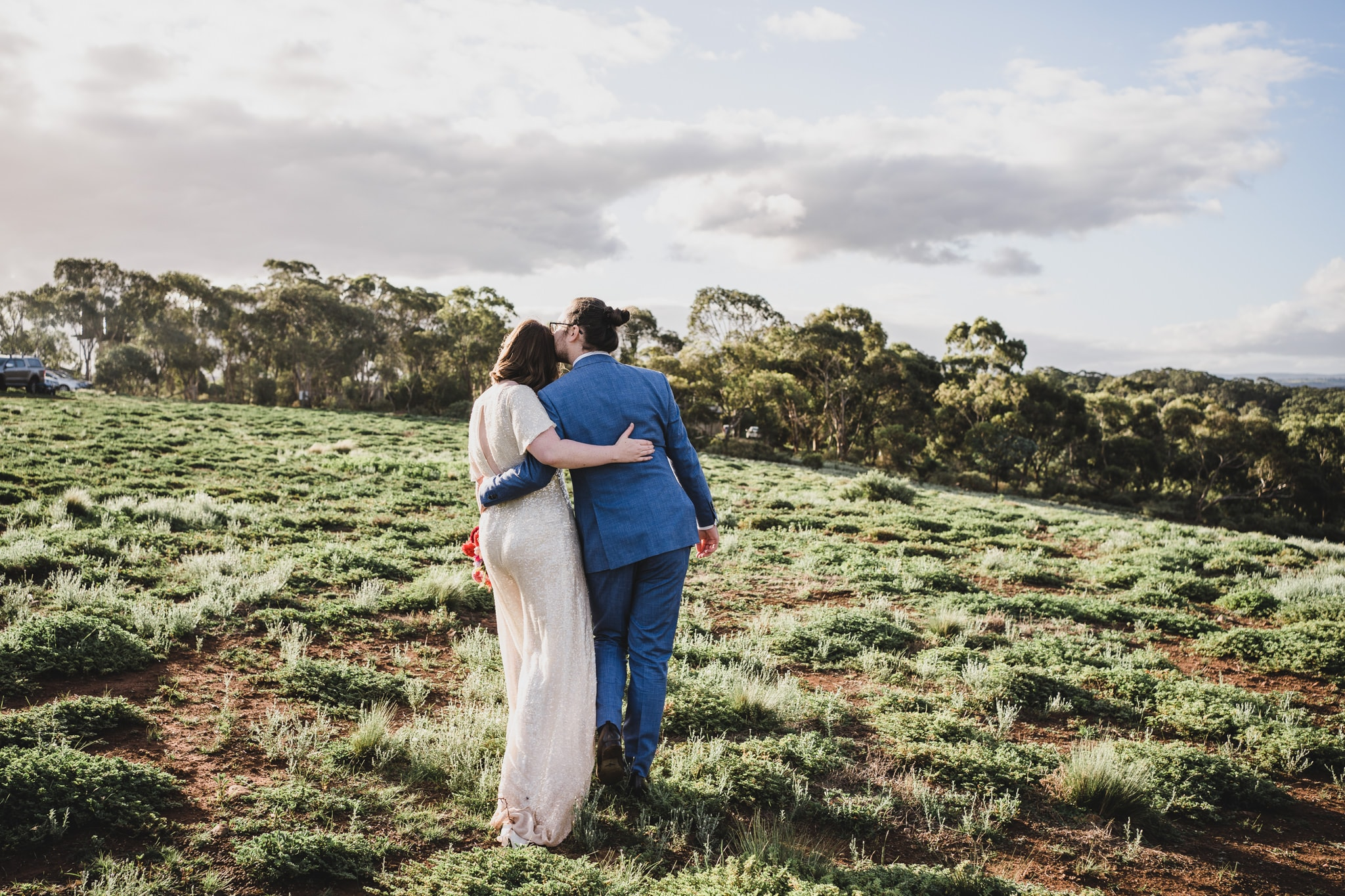 Kate & Brodie, Camp Sunnystones wedding.